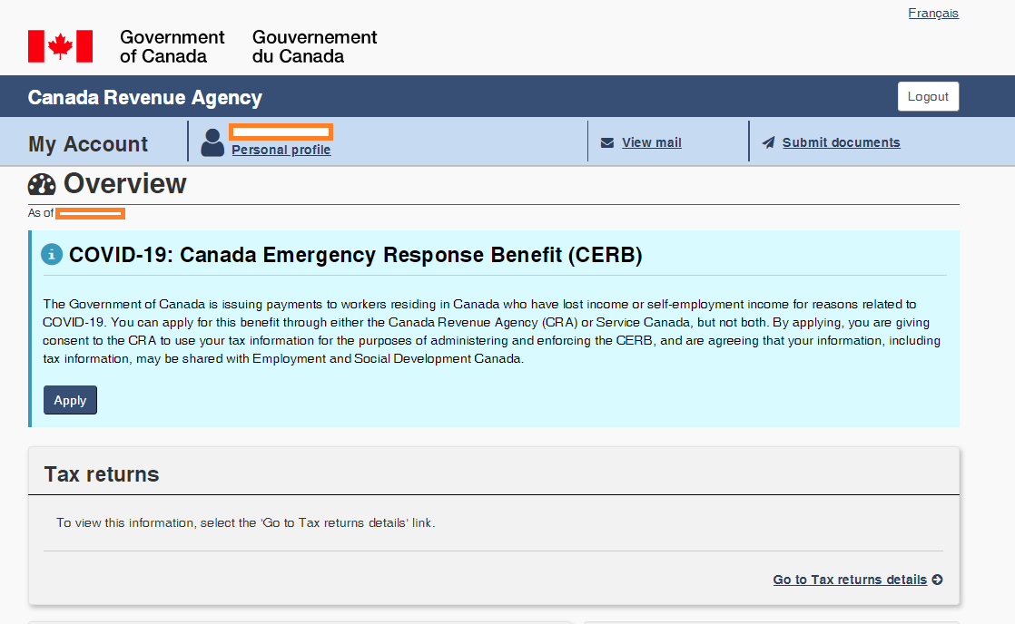 Canada Emergency Response Benefit Cerb Application Step By Step Instructions Canadian Unemployment Insurance